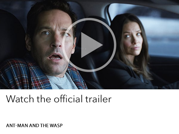 Ant-Man and the Wasp - watch the official trailer