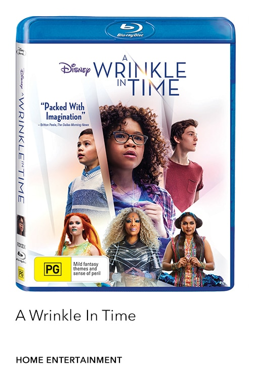 Buy A Wrinkle In Time on Digital and journey into worlds unknown on family movie night