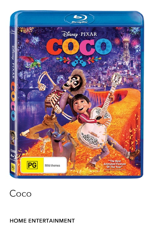 Coco is now available on Digital, Blu-ray™ & DVD