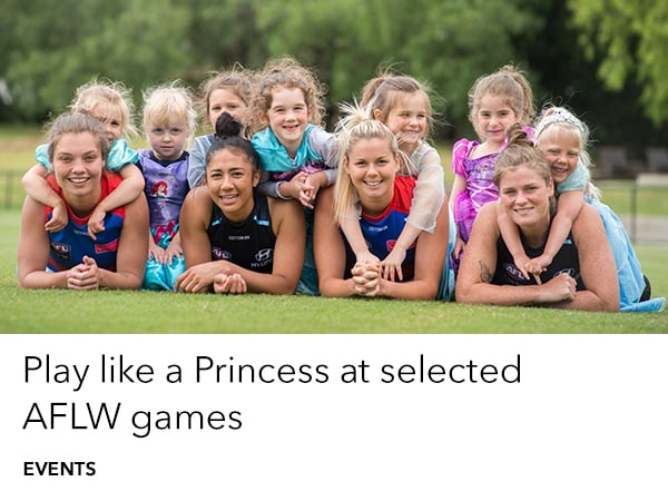 Play Like A Princess at the Football this season
