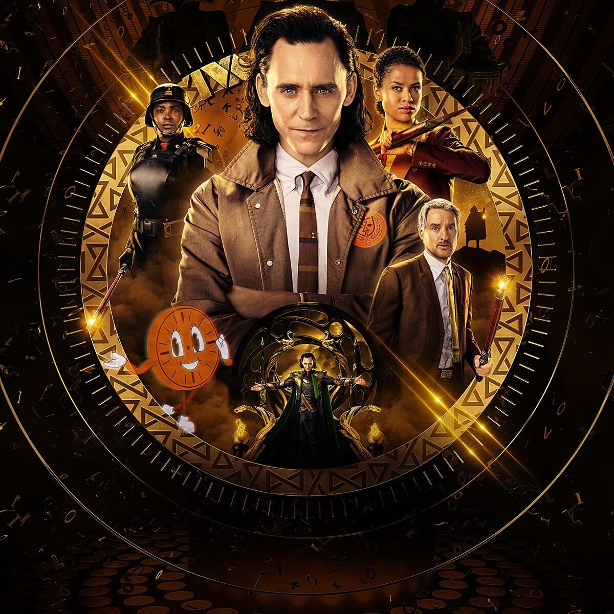 Marvel Studios' Loki poster art