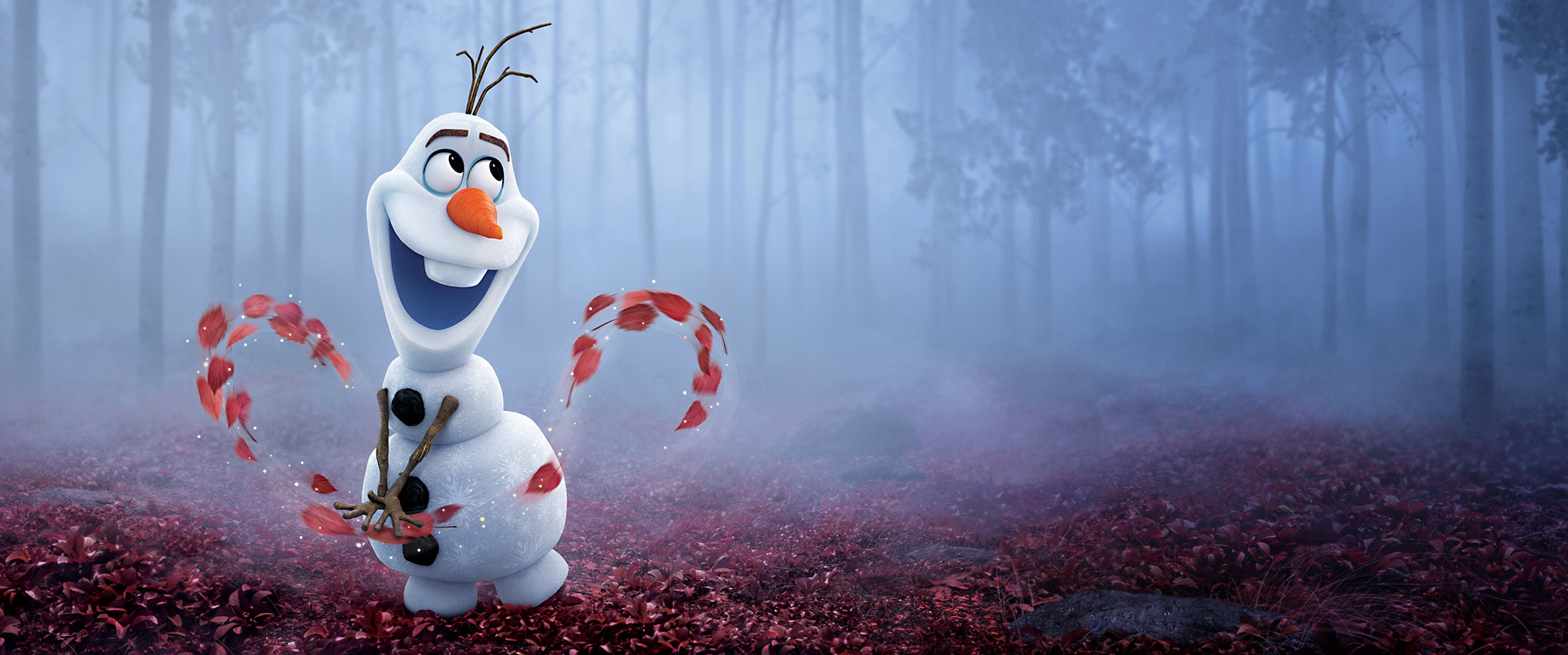 Frozen 2 - Showcase hero - Olaf
