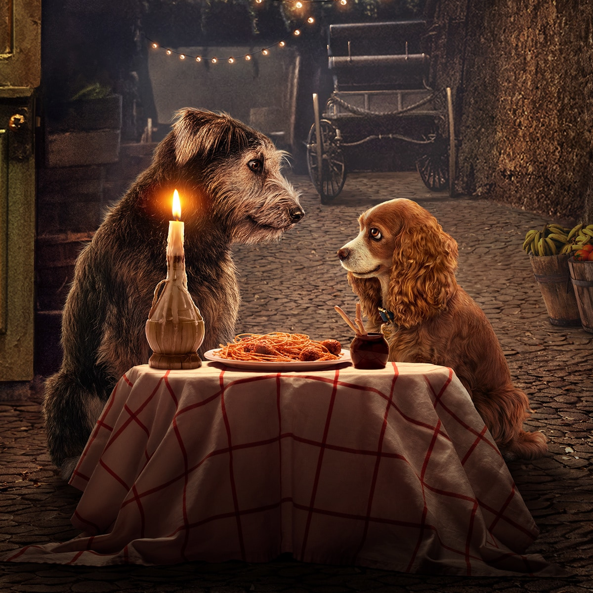 Lady and the Tramp. Original Film Now Streaming on Disney+ in Australia and New Zealand