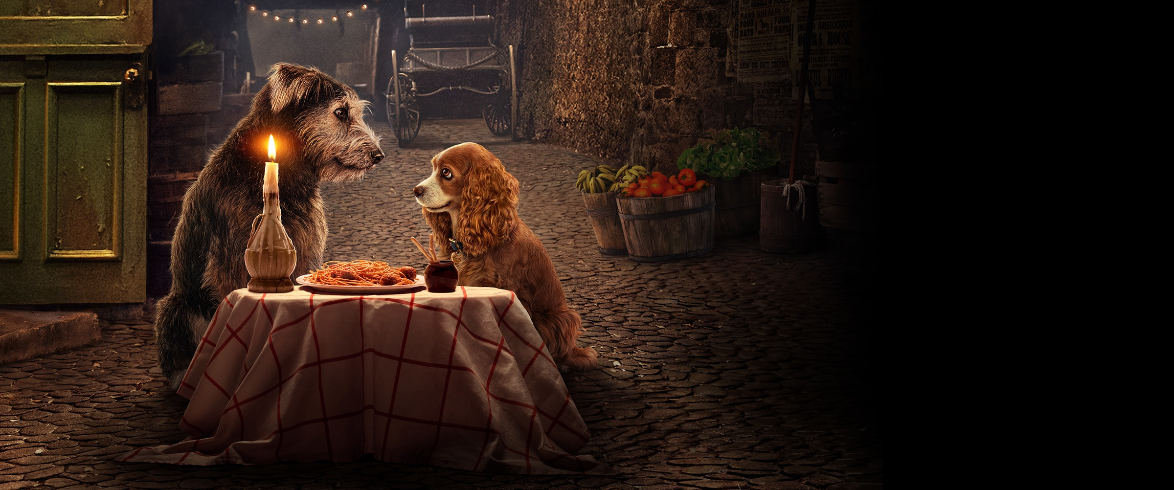DisneyPlus - Homepage Hero - Lady and the Tramp Title