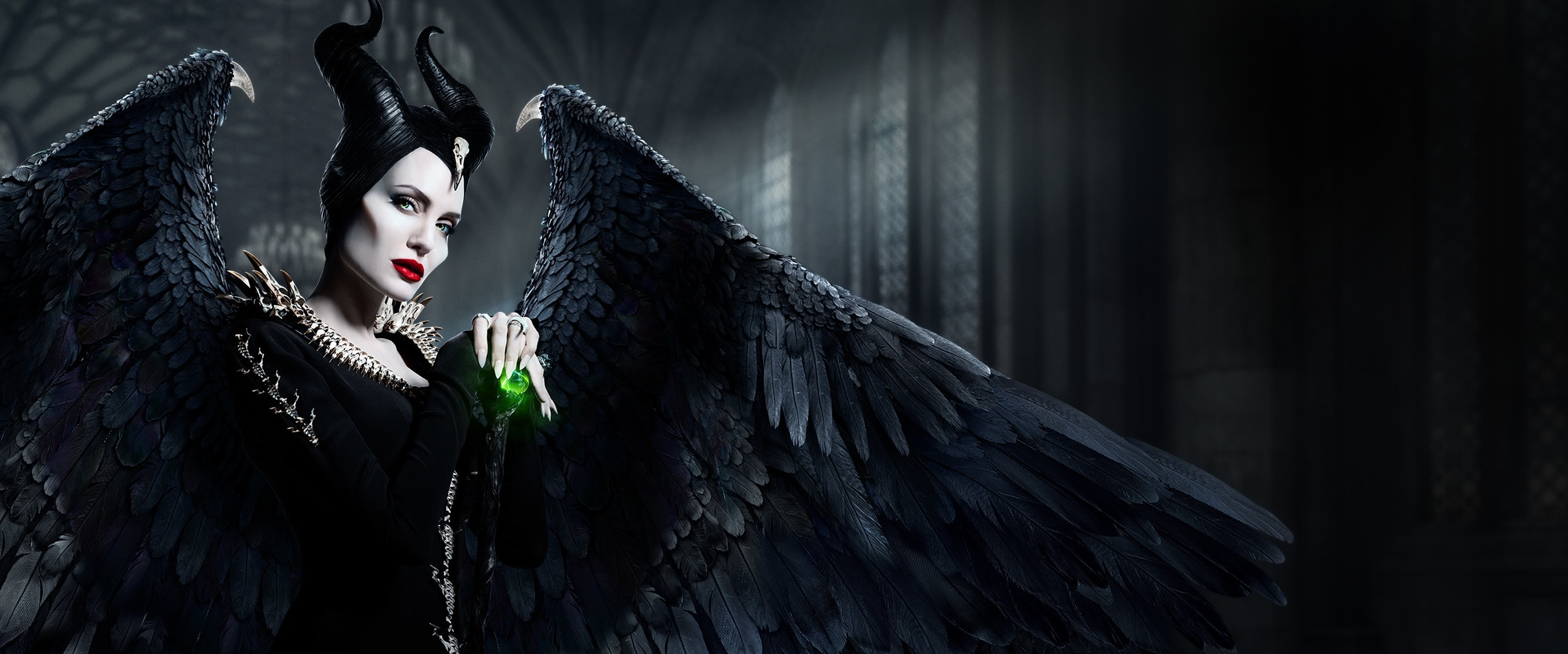 Maleficent: Mistress of Evil (2019) - Homepage Hero - Wings - DISNEYPLUS