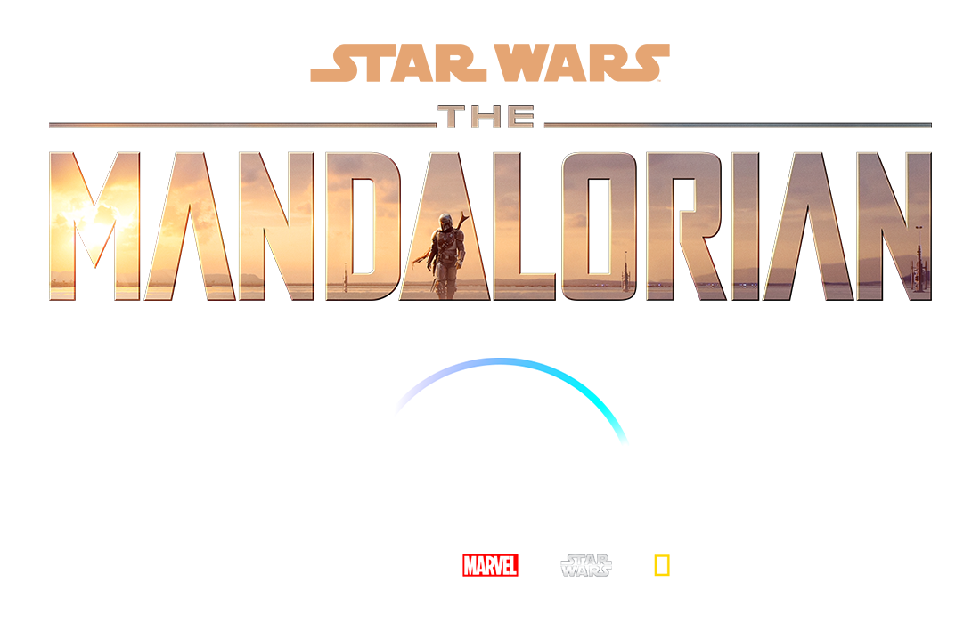 DisneyPlus - Homepage Hero - The Mandalorian Title