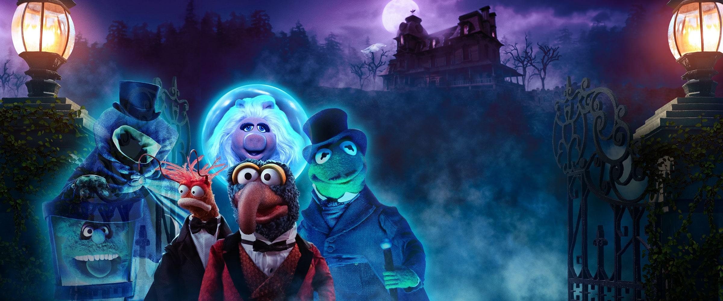 Muppets Haunted Mansion | Now streaming on Disney+