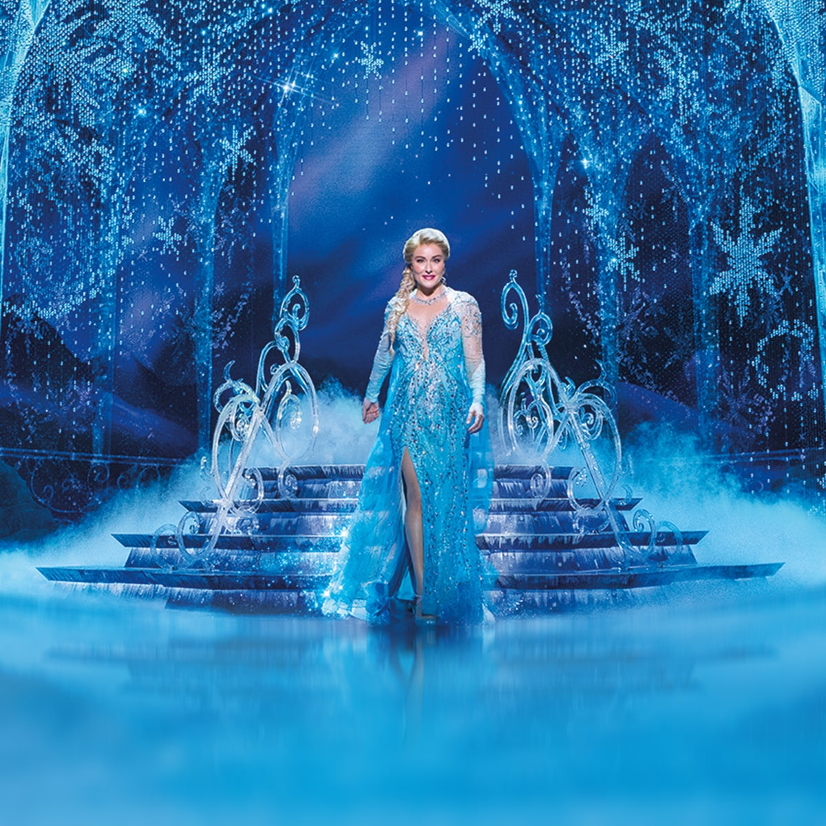 Jemma Rix as Elsa in Frozen The Musical | Tickets on sale now