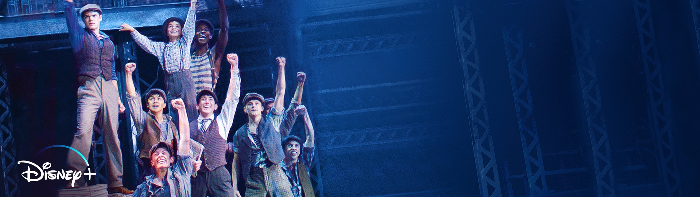 Newsies: The Broadway Musical is now streaming on Disney+