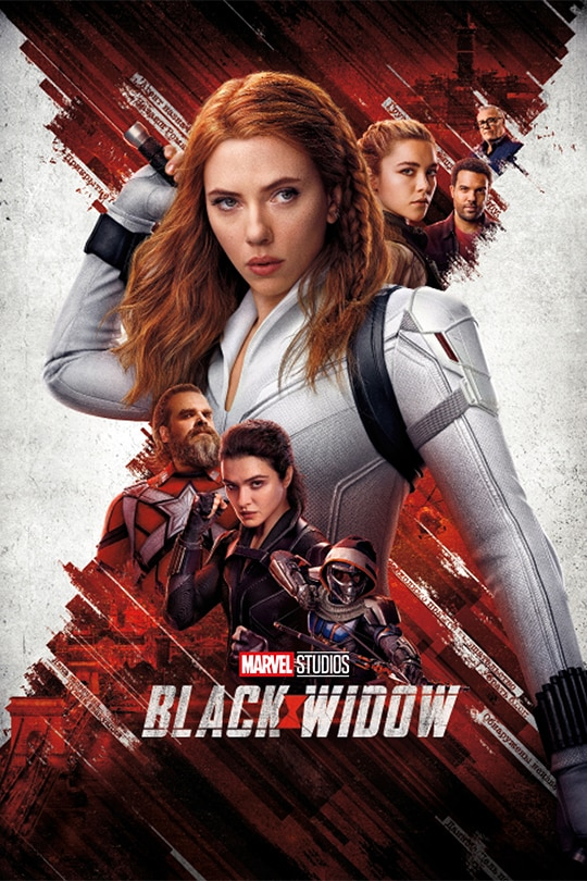 Marvel Studios' Black Widow movie poster