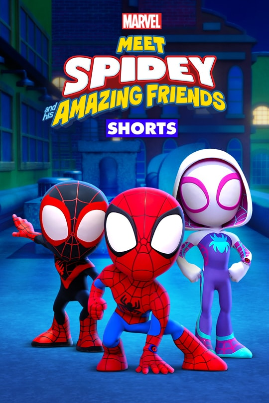 Meet Spidey and His Amazing Friends poster