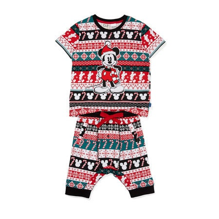 Peter Alexander Boys Christmas Mickey Pyjama Set