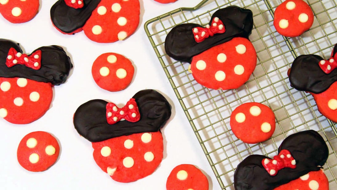 Minnie Mouse Cookies | DIY