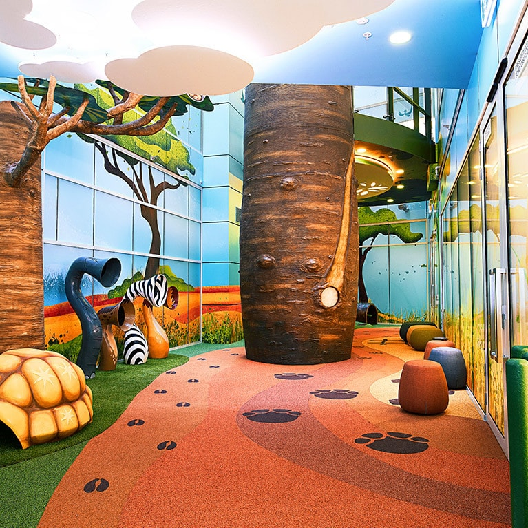 The Imagination Tree at Monash Children's Hospital