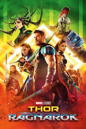 Plakat filmu Thor: Ragnarok