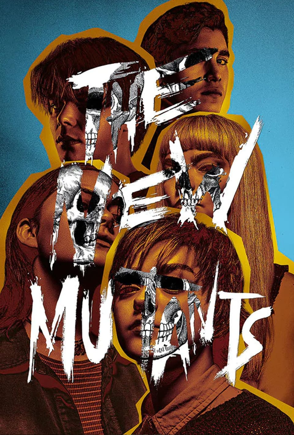 Marvel's The New Mutants movie poster