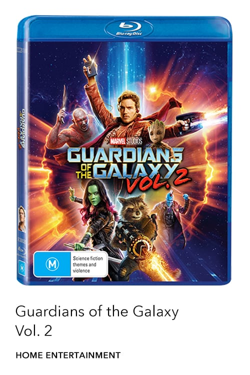Marvel Studios' Guardians of the Galaxy 2 is now available on Digital, Blu-ray™ & DVD