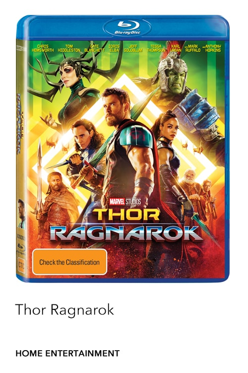 Marvel Studios' Thor Ragnarok is now available on Digital, Blu-ray™ & DVD