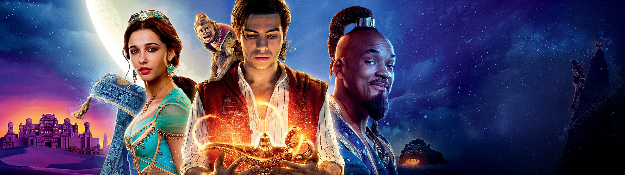 Aladdin - HomepageHero - In Cinemas 23 May - Aladdin Jasmine Genie SHORT payoff