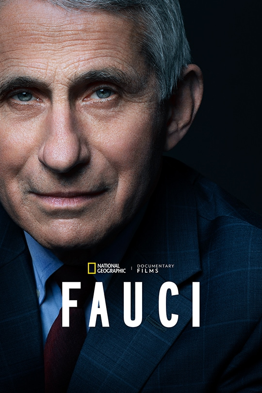 National Geographic's Fauci poster