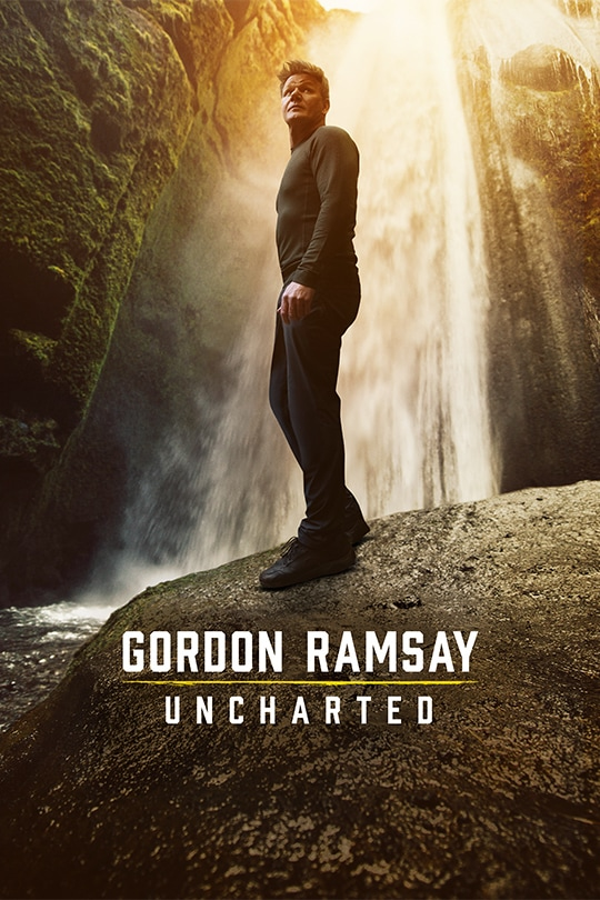 National Geographic's Gordon Ramsay: Uncharted Season 3 poster