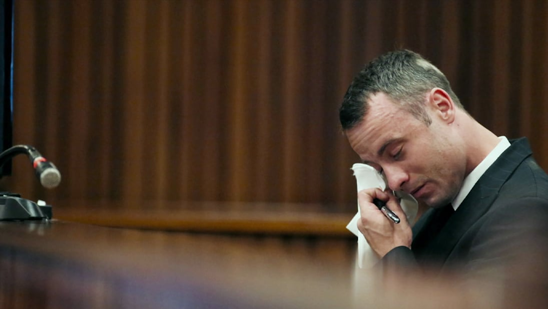 A still image from National Geographic's The Life and Trials of Oscar Pistorius
