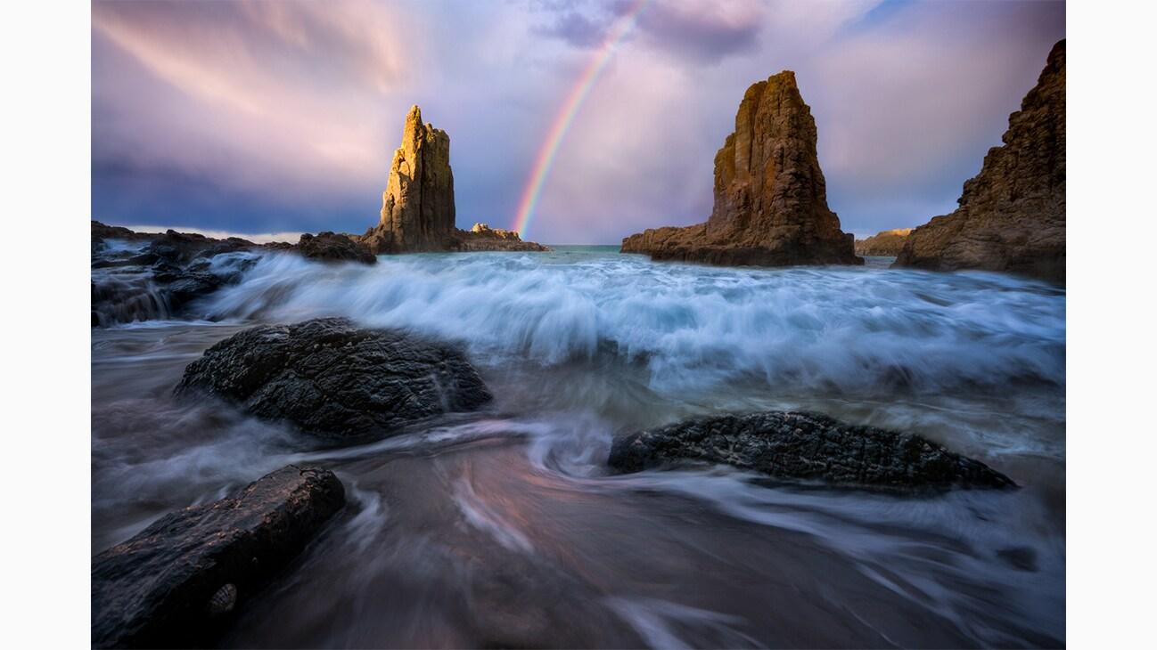 Cathedral Rocks, Kiama in Australia photo by Will Patino