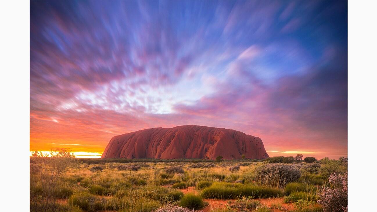 Uluru in Australia photo by Will Patino