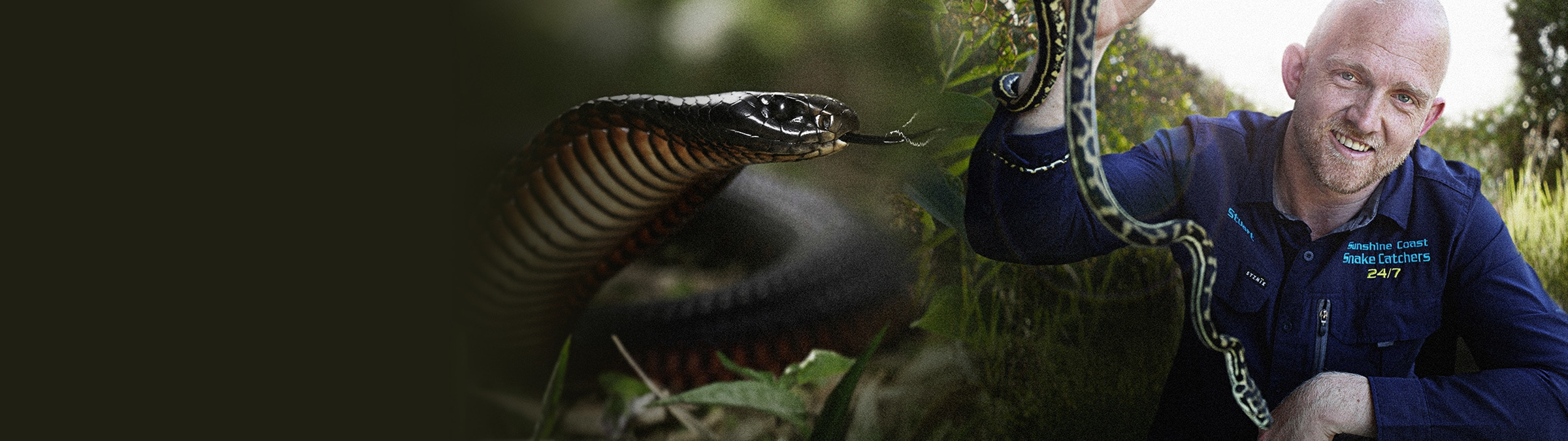 Aussie Snake Wranglers | National Geographic | Premiering 14 September