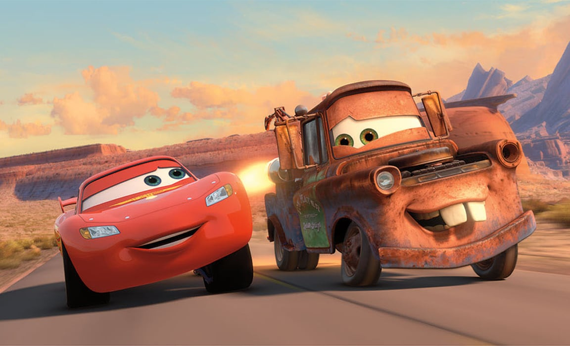 Lightning McQueen and Mater from Disney and Pixar's Cars 2