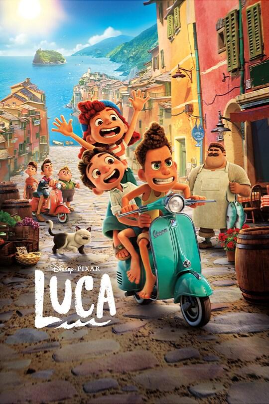 Disney and Pixar's Luca movie poster