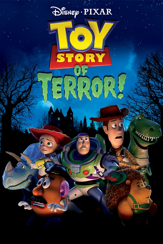 Disney and Pixar's Toy Story of Terror! poster