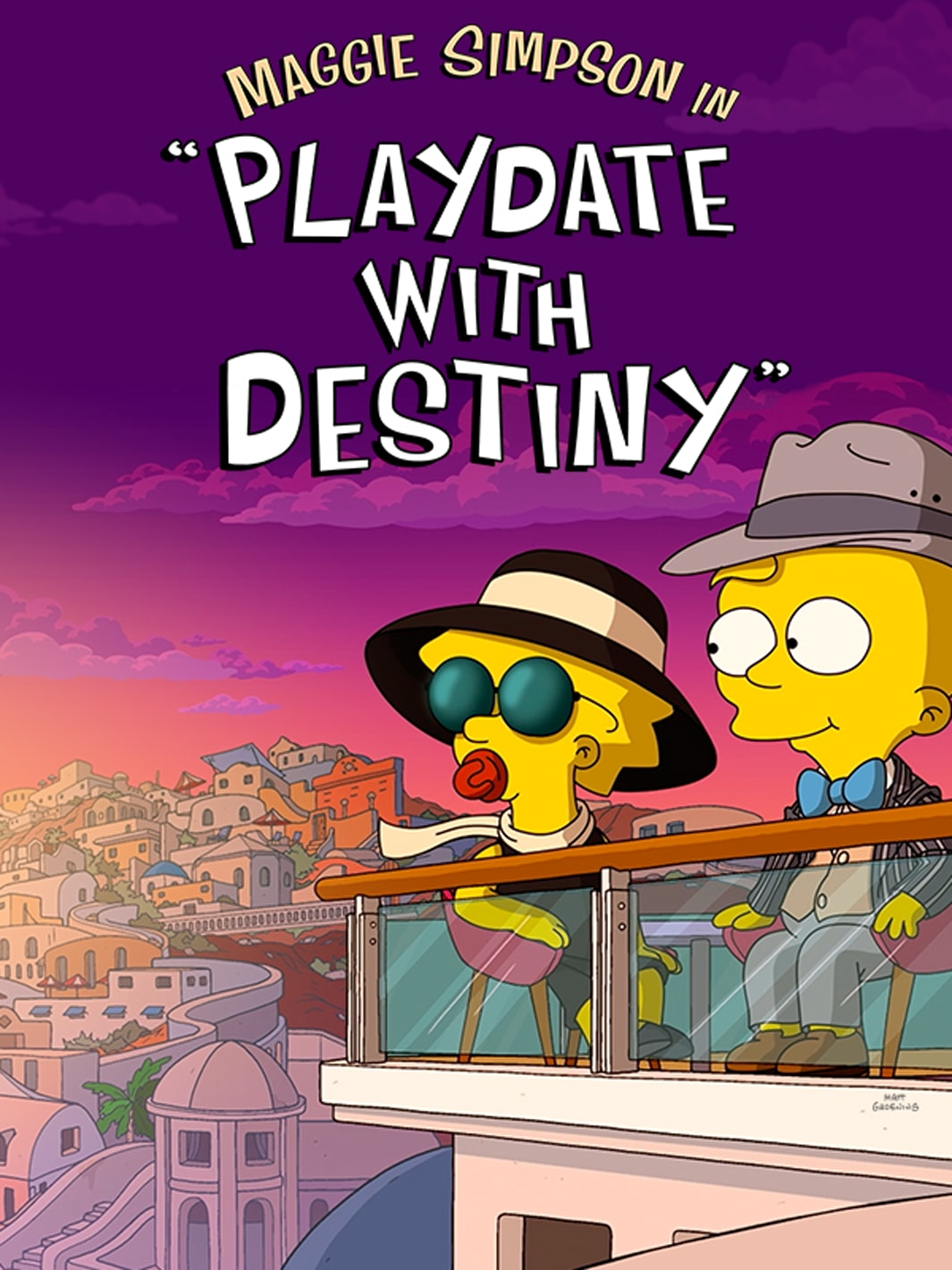 The Simpsons Playdate with Destiny on Disney+