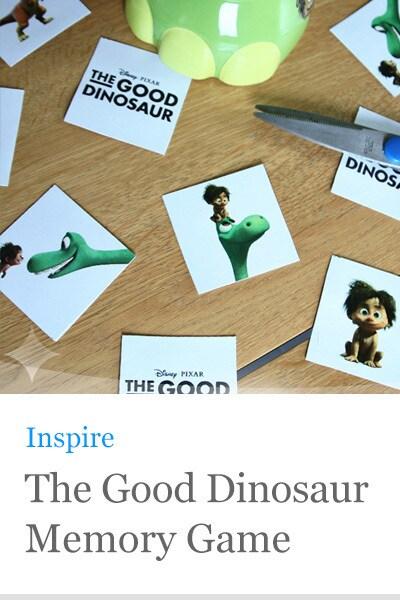 The Good Dinosaur Memory Game