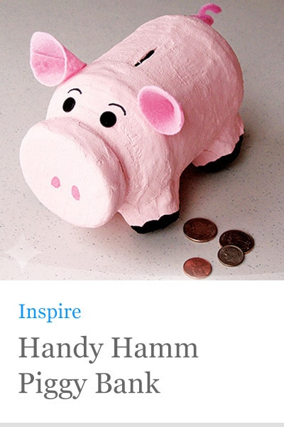 Toy Story Hamm Piggy Bank