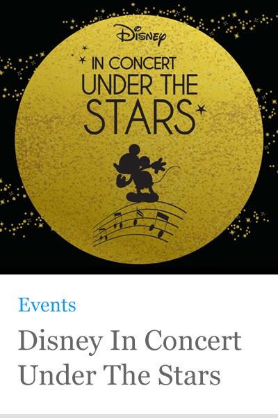 Disney Under The Stars