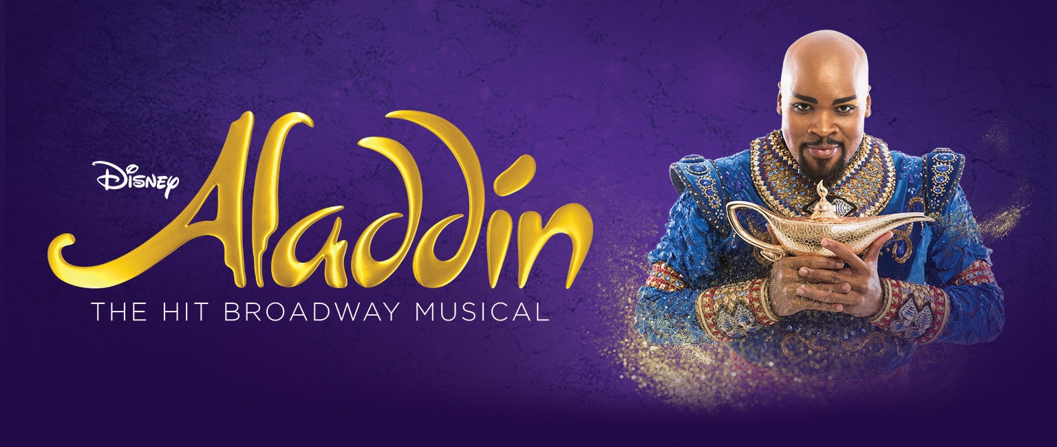 Live Shows: Aladdin The Musical - Genie