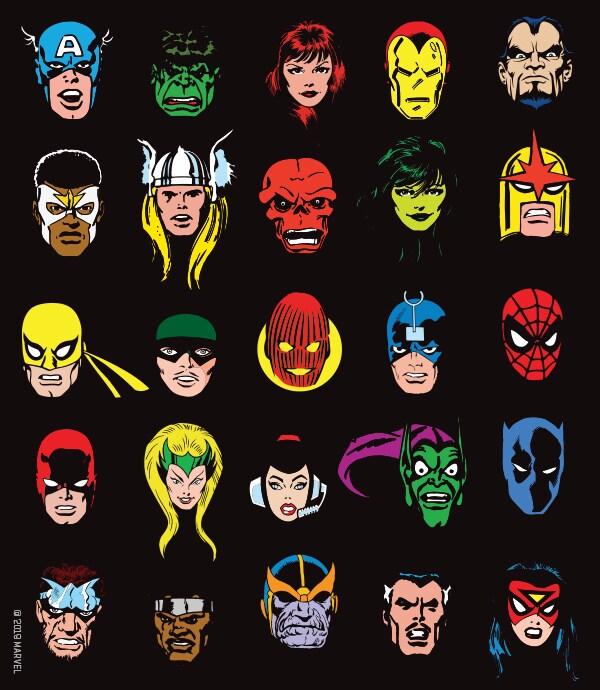 Marvel Exhibition at Oz Comic-Con