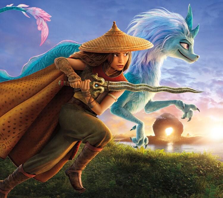 Raya and the Last Dragon | Title | Cinemas and Disney+ | Hero - Premier Access - Mobile