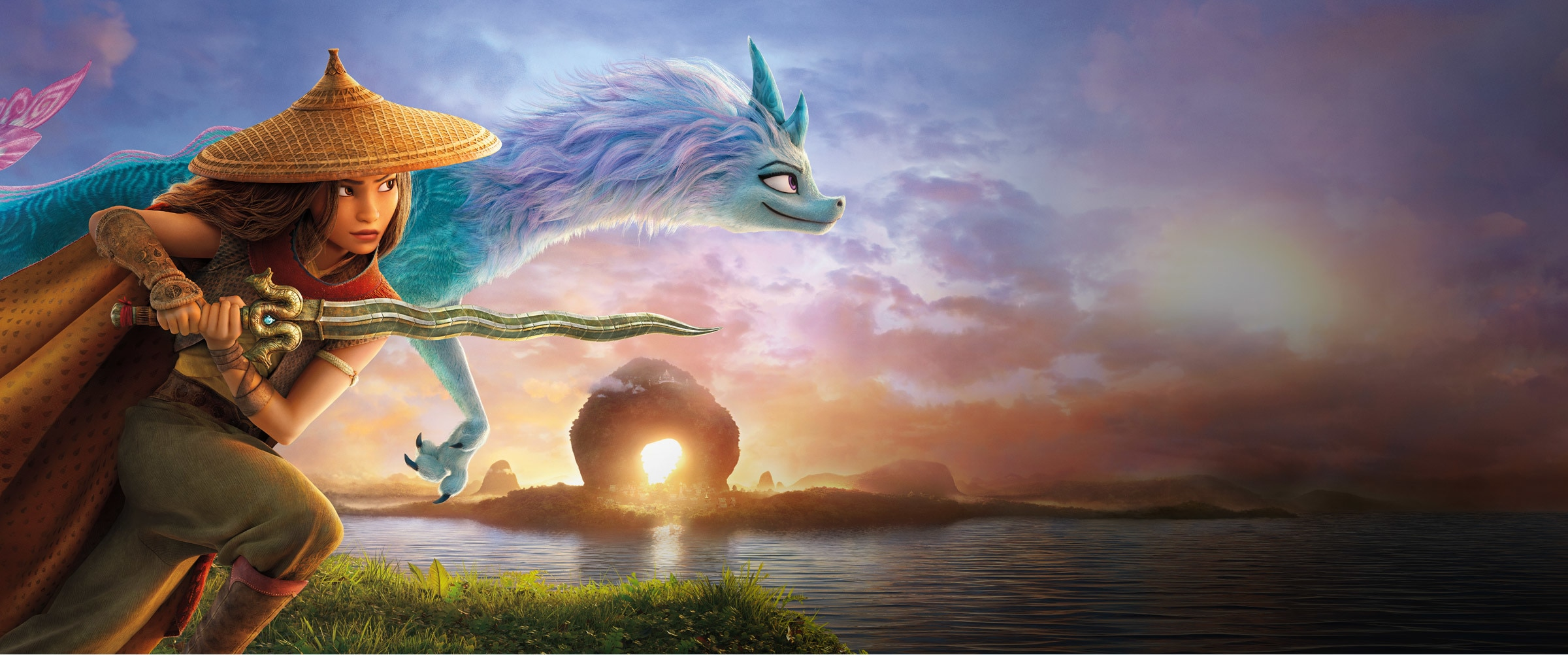 Raya and the Last Dragon | Showcase | Hero | Disney+