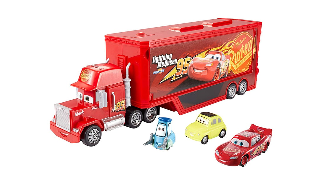 Cars 3 Travel Time Mack Gift Pack