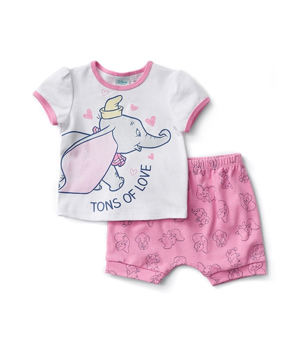 Baby Dumbo Love Pyjama Set