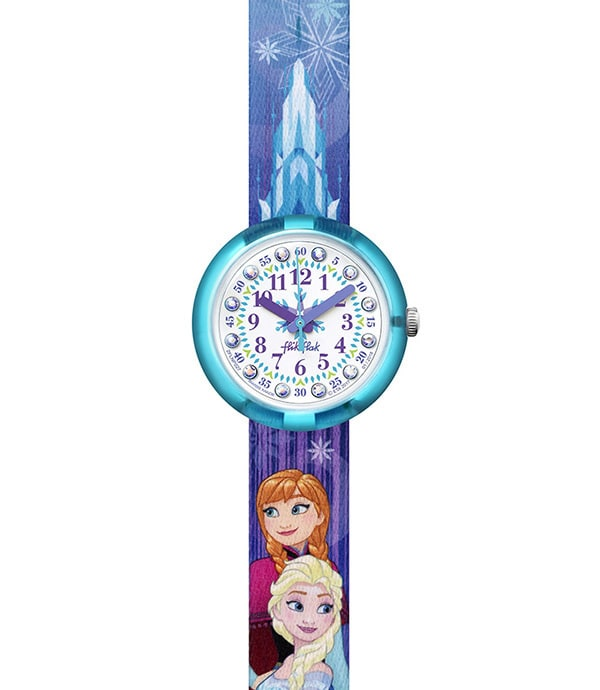 Elsa & Anna Flick Flack Watch