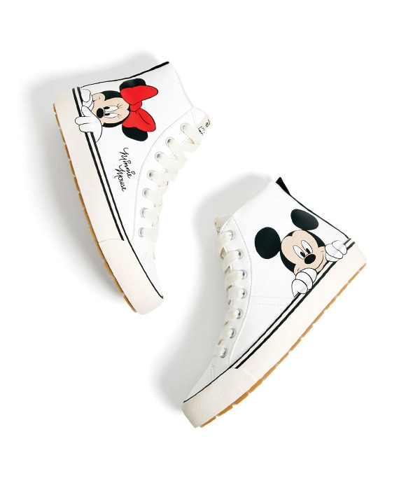 Mickey & Minnie Hi-Top Sneakers