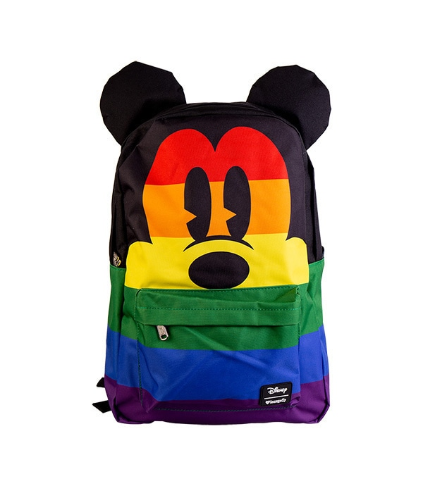 Mickey Rainbow Loungefly Backpack
