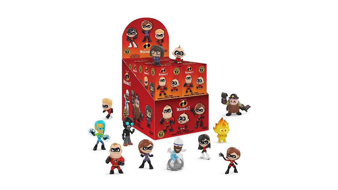 Shop - Disney Pixar - Incredibles - Mystery Minis POP! Vinyl Figure Assorted