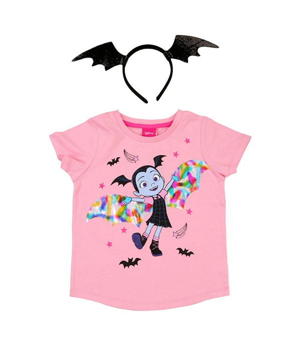 Shop - Disney Pixar - Vampirina - Pink Tee