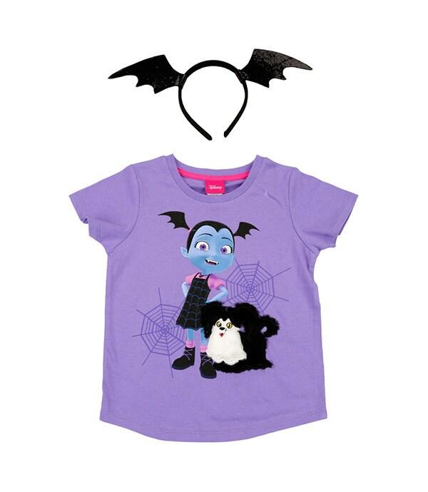 Shop - Disney Pixar - Vampirina - Purple Tee