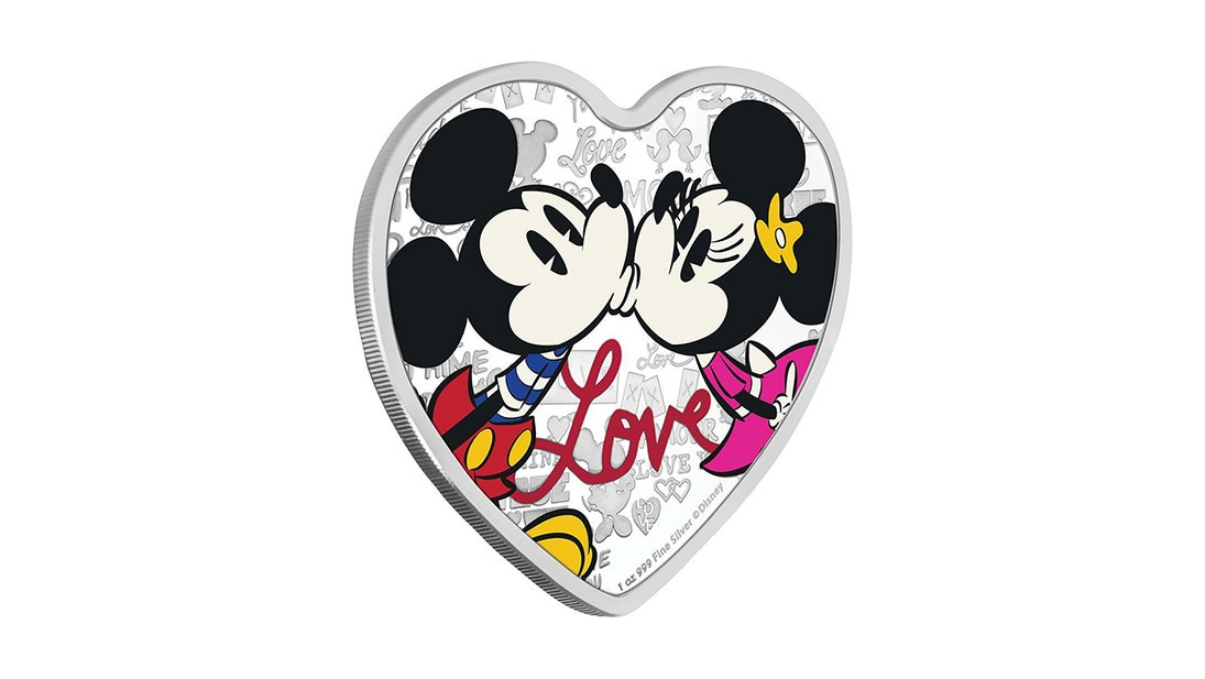 Disney Love 2019 1oz Silver Coin