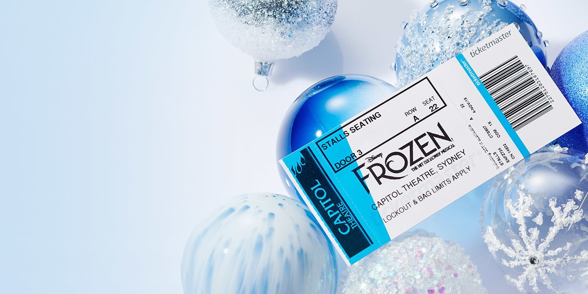 Book tickets to Frozen The Musical.